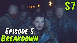 season 7 episode 5 breakdown game of thrones