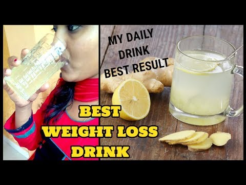 Best weight loss drink|how to lose weight fast|ginger lemon fat cutter drink