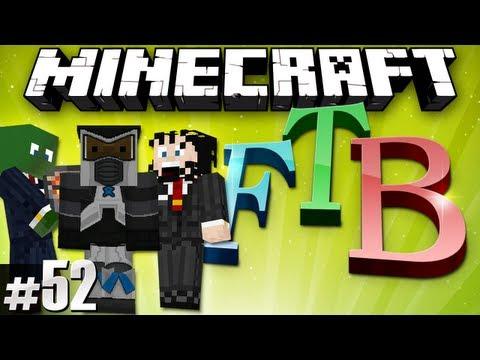 Minecraft Feed The Beast #52 - Big plans!
