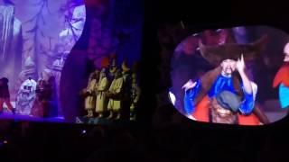 МАША И МЕДВЕДЬ +ТРИ БОГАТЫРЯ Новогоднее представление в крокус сити 2016