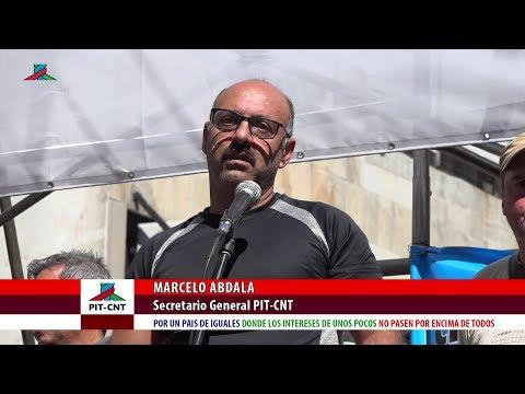 PIT-CNT Marcelo Abdala Paro General 22-3-2018