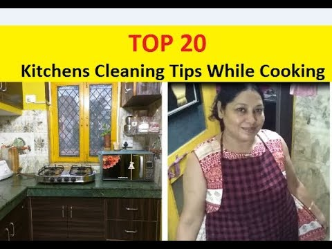 Top 20 Very Useful Tips & Tricks for  Kitchen Cleaning ## While Cooking In Hindi 2018 || Daily tips
