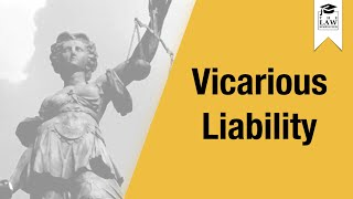 Tort Law - Vicarious Liability