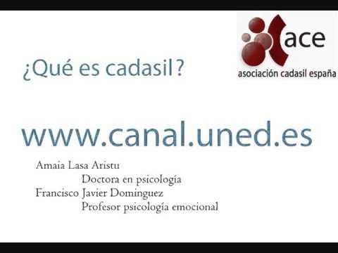 Qué es CADASIL y como se manifiesta (Via Canal.UNED)
