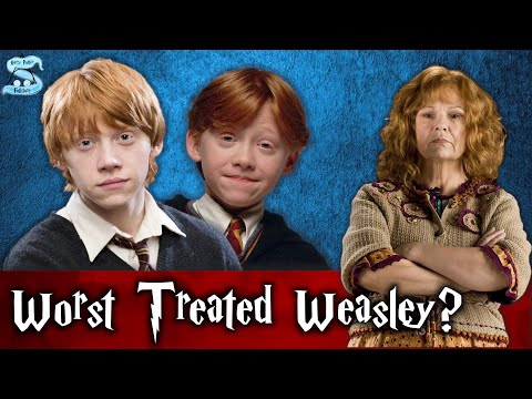 Was Ron The Worst Treated and Least Loved Weasley?
