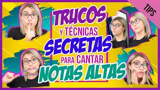 7 TRUCOS SECRETOS para CANTAR NOTAS ALTAS | SINGING HACKS | Clases de Canto | Gret Rocha