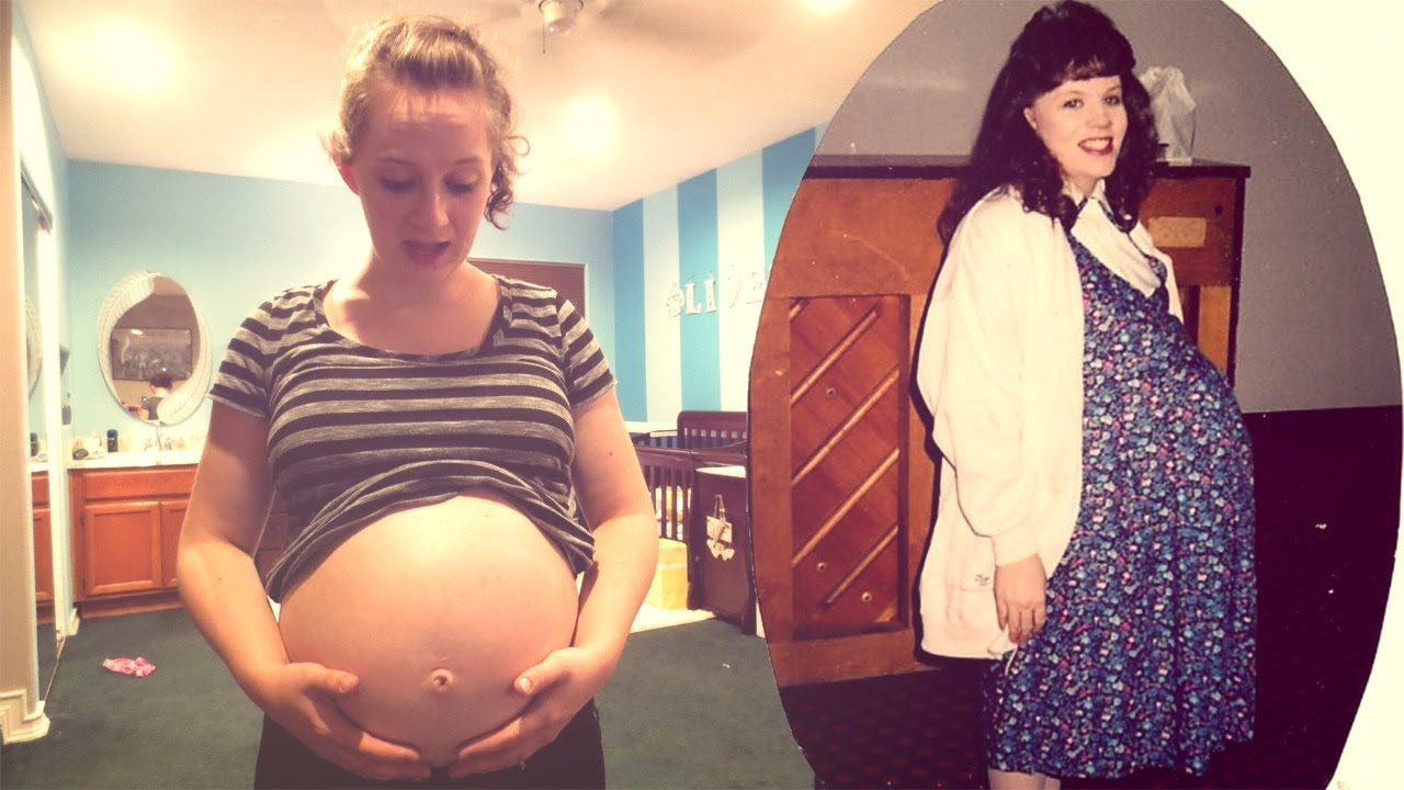 HUGE PREGNANT BELLY!! (5.22.13 - Day 117) - YouTube