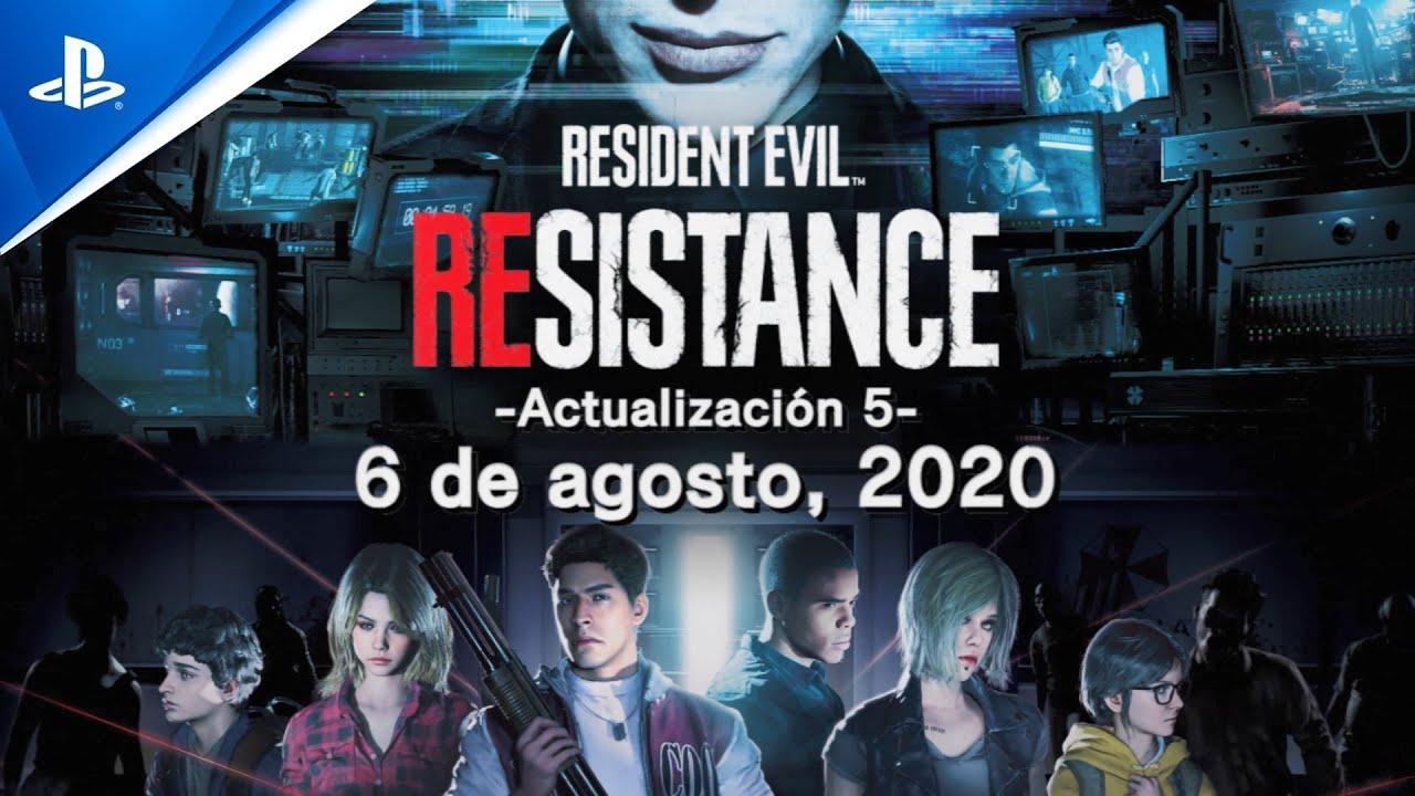 Resident Evil Resistance - Actualización de agosto y Tráiler de disfraces RE2 | PS4