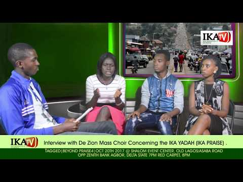 An interview with De Zion City Mass Choir