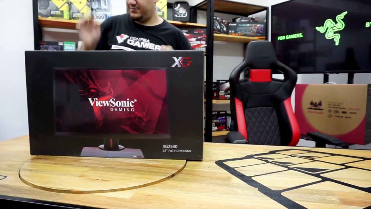 ViewSonic XG2530 Review en español - 240Hz Monitor Gaming - YouTube