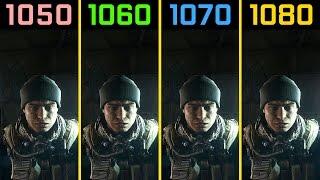Battlefield 4 GTX 1050 Ti vs. GTX 1060 vs. GTX 1070 vs. GTX 1080