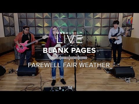"""Blank Pages"" by Farewell Fair Weather 