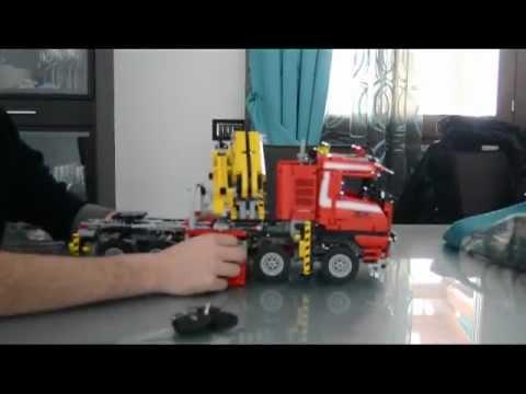 full download lego technic 8258 camion convoie exceptionnel. Black Bedroom Furniture Sets. Home Design Ideas