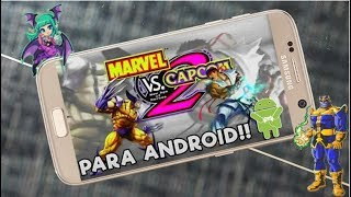 descargar marvel vs capcom 2 apk para android