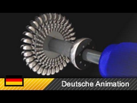 Pelton-Turbine (Aufbau und Funktionsweise) 3D-Animation - YouTube