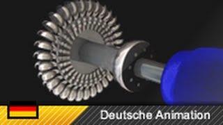 Pelton-Turbine (Aufbau und Funktionsweise) 3D-Animation