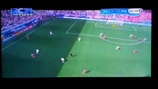 Video Gol Pertandingan Swiss vs Polandia