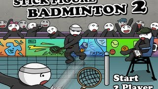 Stick Figure Badminton 2-Walkthrough