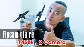 Nghịch Thử Flycam SG700 Giá Siêu Rẻ 2 Camera Cho Người Mới Chơi - Nếm TV