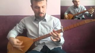 Skyrim Theme Turkish Saz (bağlama) Cover