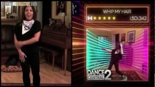 """""""WHIP MY HAIR"""" Dance Central 2 - Hard Gameplay 100% - MightyMeCreative"""