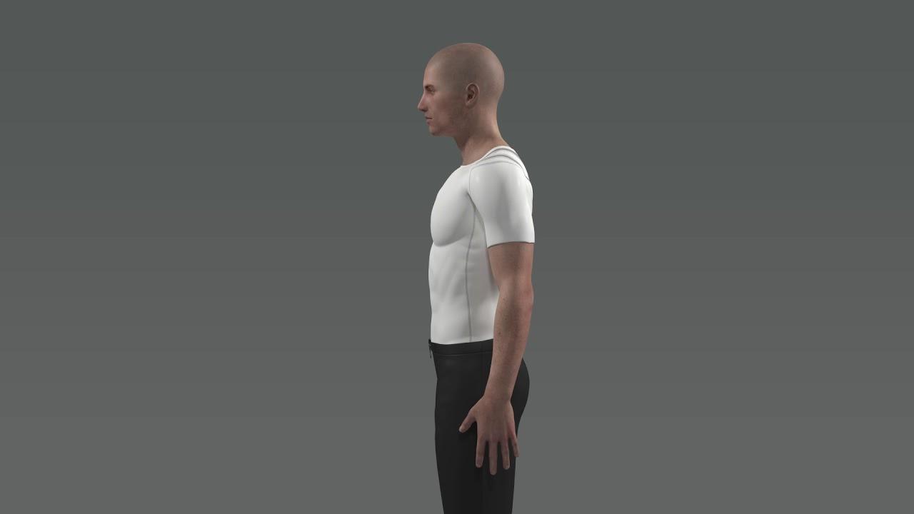 Posture Shirt Holdningstøy fra Anodyne.no