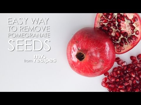 The Easiest Way to Remove Pomegranate Seeds   MyRecipes