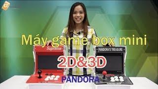 Máy game thùng Pandora 6S 1388 trò và 3D 2260 trò tích hợp màn hình 10.1 inch