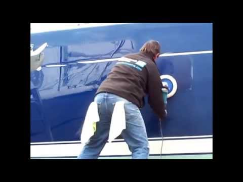 Nanotech Marine Boat Polishing