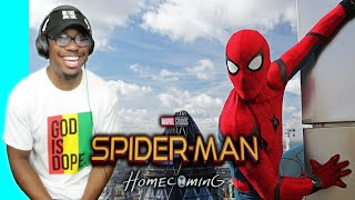 """First Time Watching """"SPIDERMAN: HOMECOMING"""" (Movie Commentary & Reaction)"""
