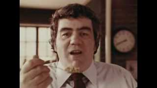 1970's Grape Nuts Commercial with Jimmy Breslin