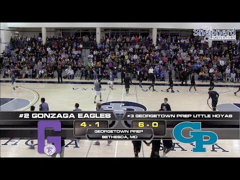 Gonzaga vs. Georgetown Prep basketball broadcast, Partial Replay, 12/21/16