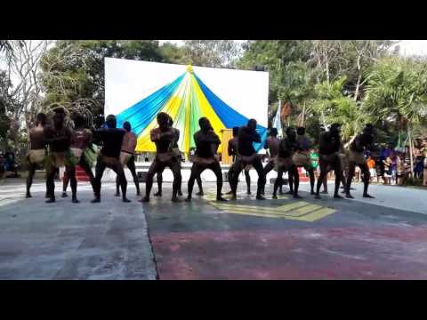 Solomon Islands Custom Dance performed by PNG students