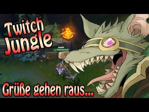 Twitch Jungle in Season 8 + Grüße gehen raus...