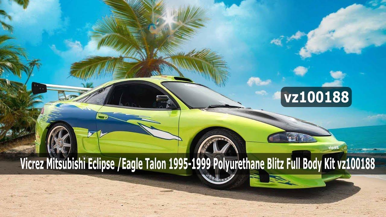 Vicrez Mitsubishi Eclipse Eagle Talon 1995 1999 Polyurethane Full