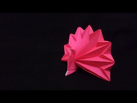 Origami Peacock [Burung Merak] | Origami Binatang