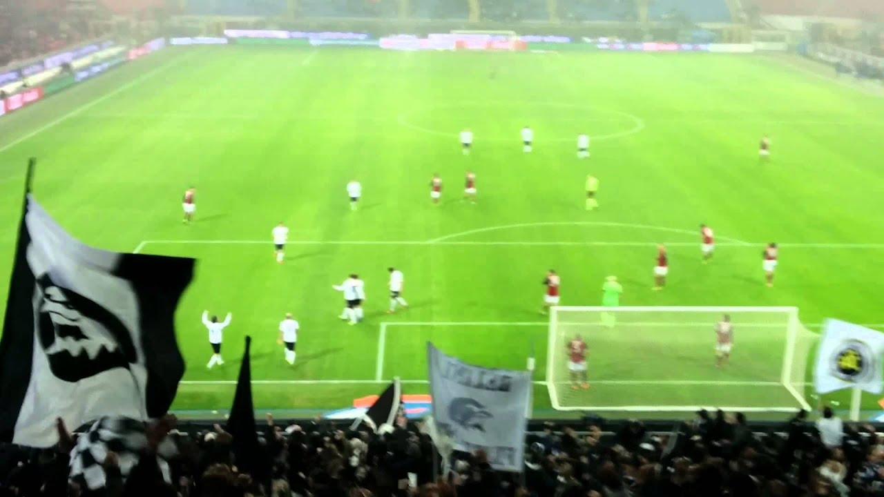 Milan Vs Spezia Gol Di Ferrari Stadio G Meazza Mi