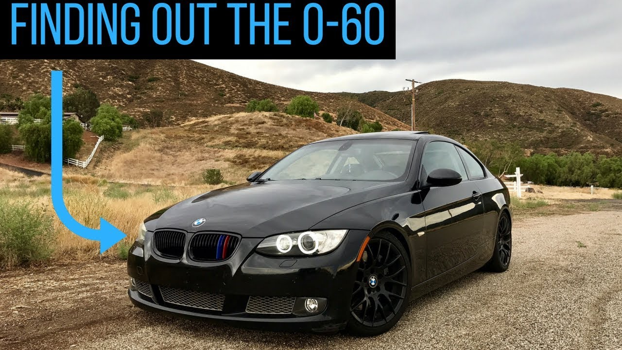 What Is The 0 60 On My Modified Bmw 335i