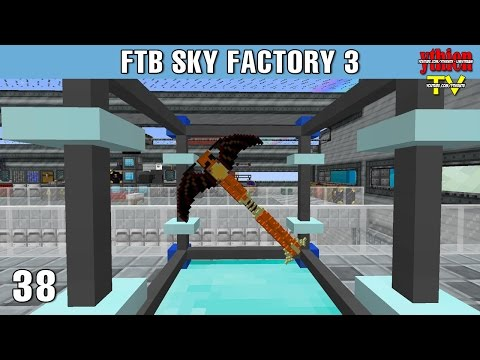 FTB Sky Factory 3 38 - Staff of Power