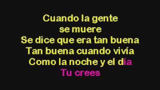 Celia Cruz La Negra Tiene Tumbao Karaoke