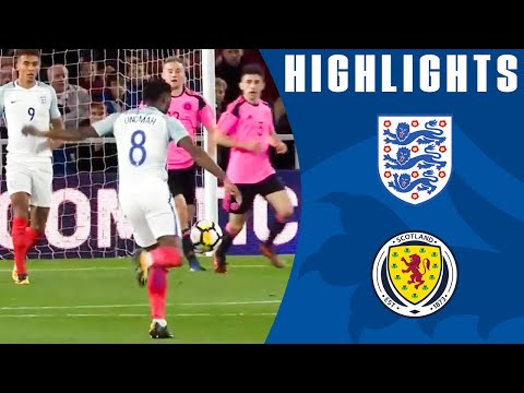 Stunning Long-Range Onomah Goal! | England U21 3–1 Scotland | Highlights