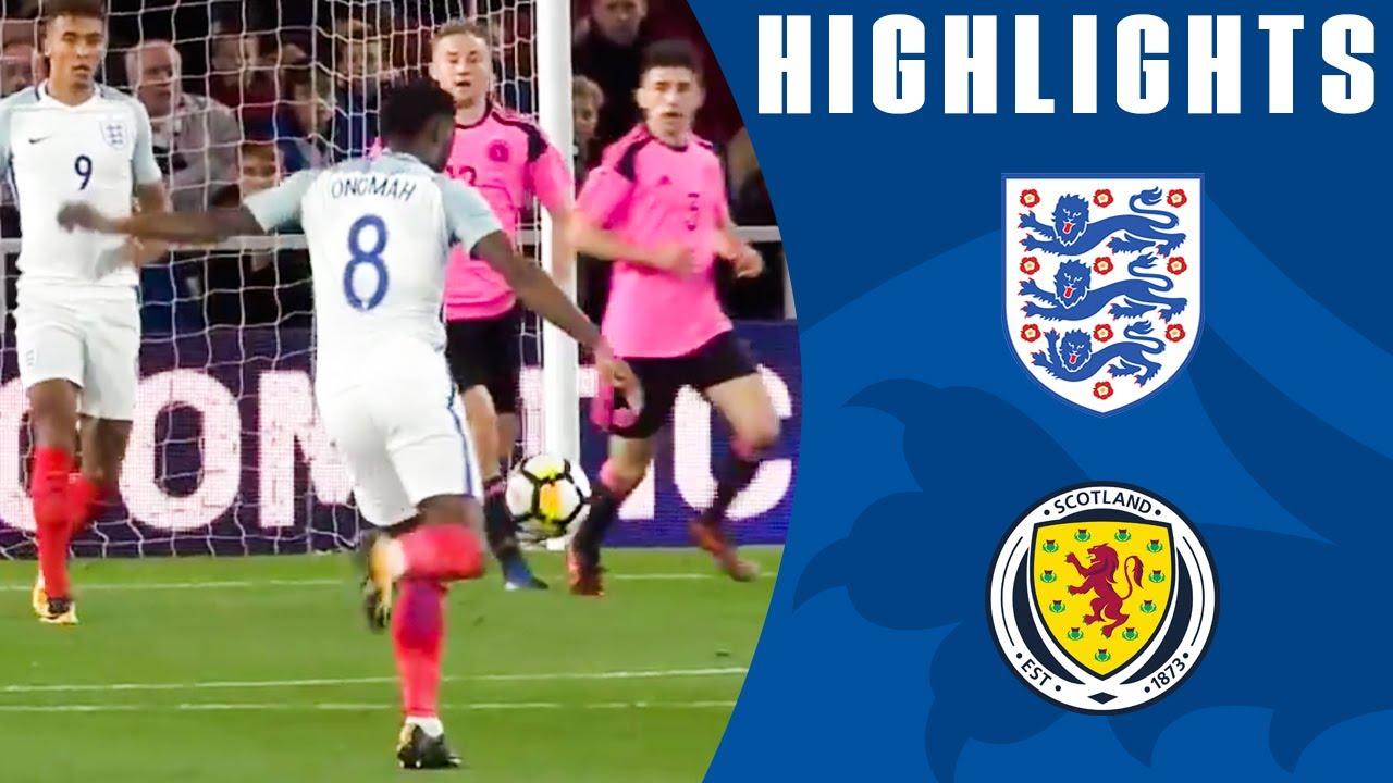 Англия U-21 - Шотландия U-21 3:1 видео