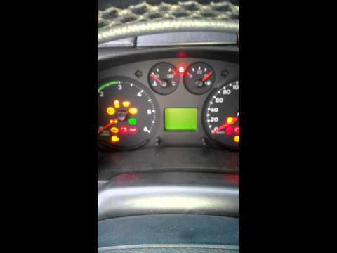 Заводим Ford Transit 2.2 tdci в мороз 13
