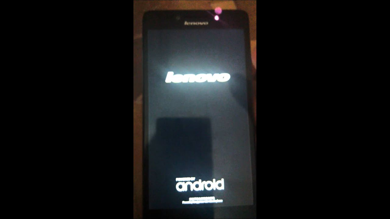Stuck on Boot Logo and NOT booting to recove… | Lenovo A6000