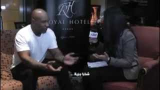 Mike Tyson in ALGERIA (ORAN)  -exclusive interview- By Nihad Reggad