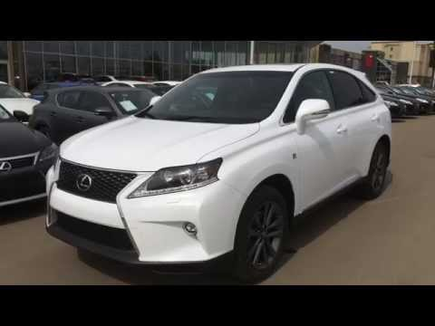 2015 Lexus RX 350 AWD F Sport Review