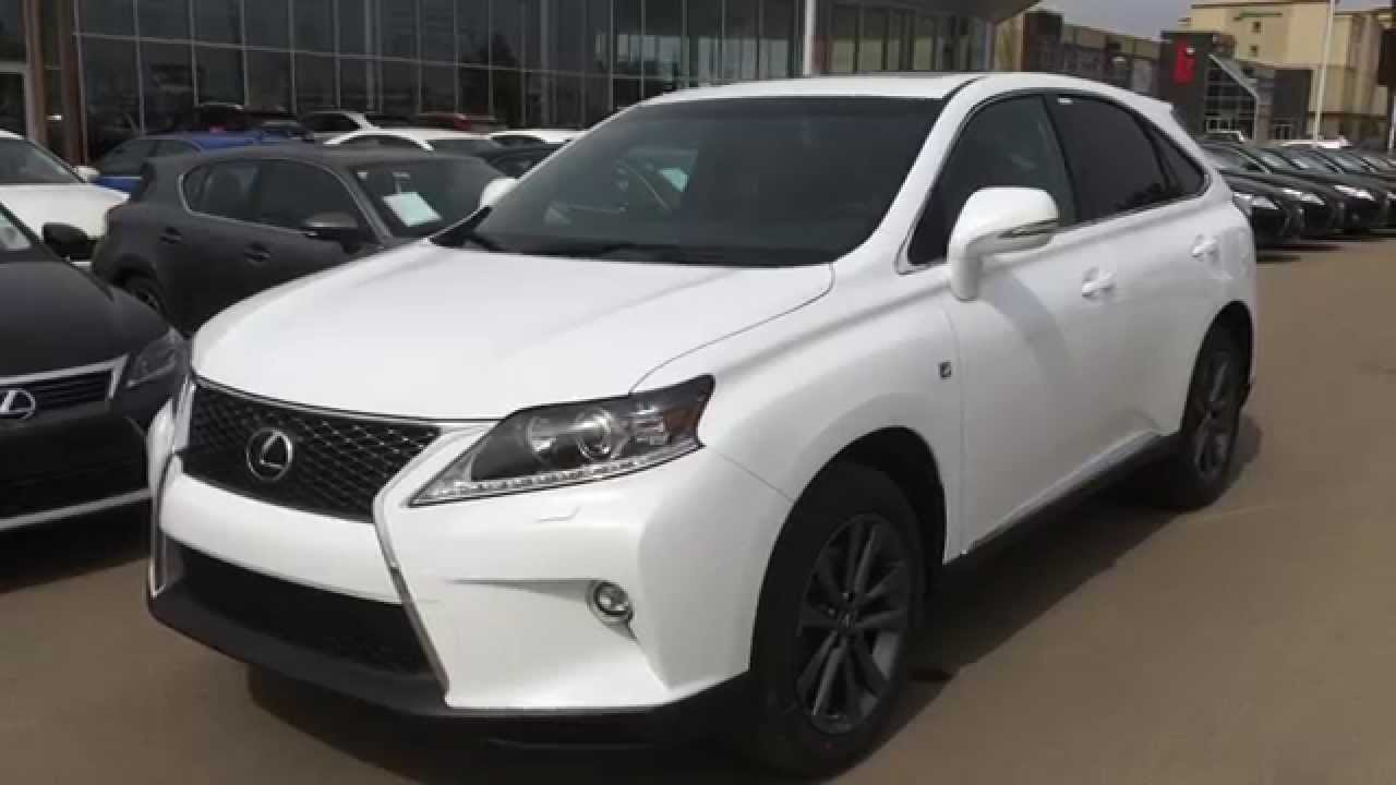 2015 Lexus RX 350 AWD F Sport Review - YouTube
