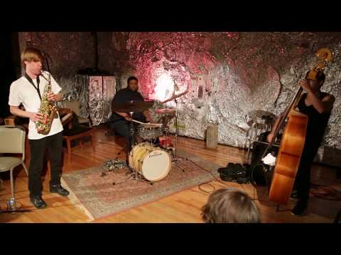 Undermine Trio (Chris Pitsiokos, Tyshawn Sorey, Brandon Lopez) - at JACK, Brooklyn - July 20 2015
