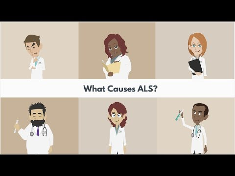 What are the causes of ALS?