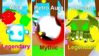 I GOT THE RAREST MYTHICAL AURAS + 2 LEGENDARY PETS In PET RANCH SIMULATOR!! [Roblox]
